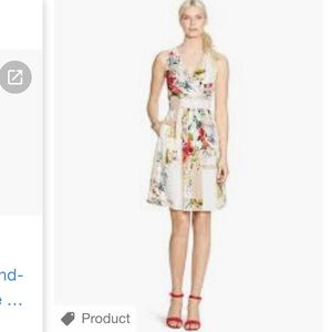 $ 170 NEW WH/BM watercolor Spring dress 2